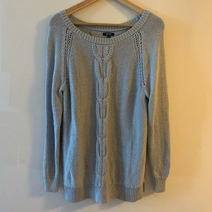JUST LISTED! Gray Knit Sweater